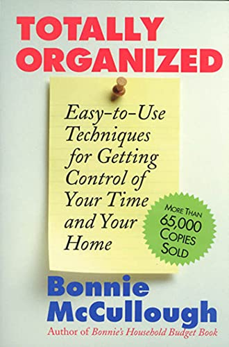 9780312807474: Totally Organized: the Bonnie McCullough Way
