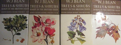 9780312817435: Trees & Shrubs Hardy in the British Isles (4 Volumes - complete)