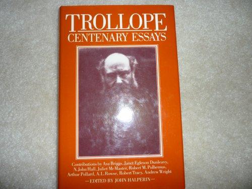 9780312818944: Trollope Centenary Essays