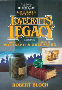 Lovecraft's Legacy (Tor horror) (0312850913) by Martin Harry Greenberg; Robert E. Weinberg