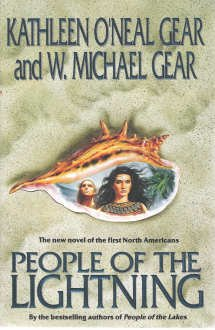 People of the Lightning: Gear, Kathleen O'Neal & Gear, Michael W SIGNED By Both