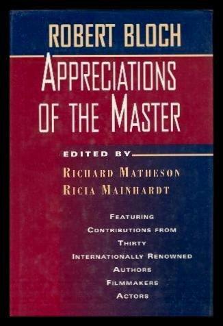 9780312859763: Robert Bloch: Appreciations of the Master