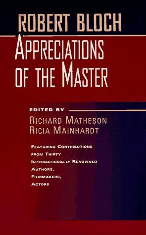 9780312863852: Robert Bloch: Appreciations of the Master
