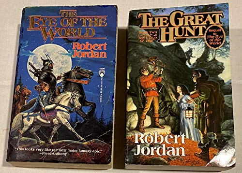 9780312864989: Wheel of Time Box Set, Eye of the World and Great Hunt