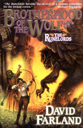 9780312867423: Brotherhood of the Wolf (The Runelords)