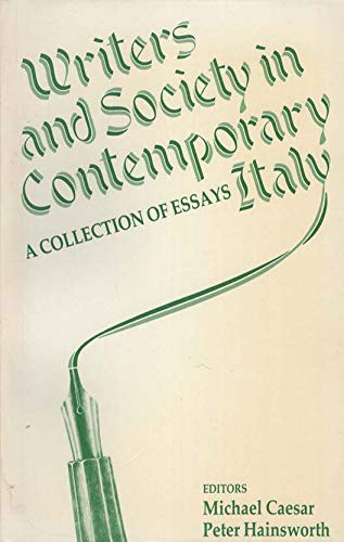 9780312893514: Writers and Society in Contemporary Italy