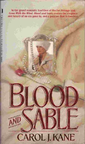 9780312917159: Blood and Sable