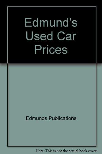 9780312918989: Edmund's Used Car Prices