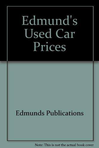 9780312919177: Edmund's Used Car Prices