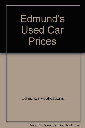 9780312919542: Edmund's Used Car Prices