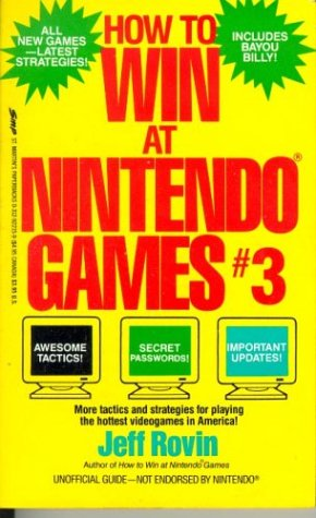 How to Win at Nintendo Games: Rovin, Jeff