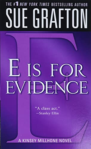 9780312939038: E is for Evidence (The Kinsey Millhone Alphabet Mysteries)