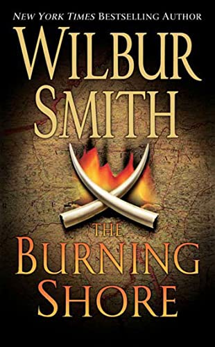 9780312940805: The Burning Shore (Courtney Family Adventures)