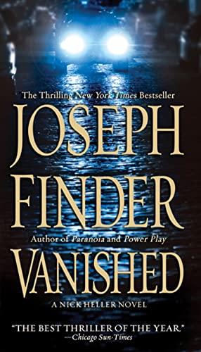 9780312946517: Vanished: A Nick Heller Novel