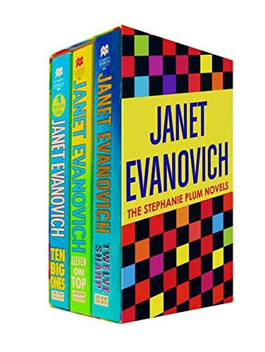 9780312947460: Janet Evanovich Boxed Set 4 (10, 11, 12): Ten Big Ones, Eleven on Top, and Twelve Sharp (Stephanie Plum Novels)