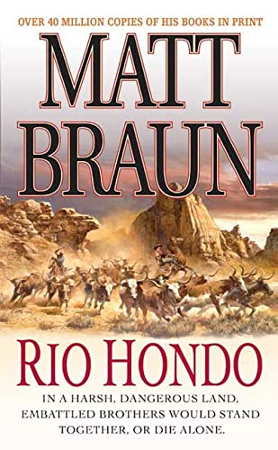 Rio Hondo (Brannocks) (9780312961619) by Matt Braun
