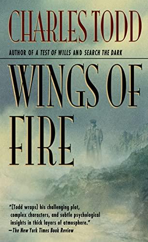 9780312965686: Wings of Fire: An Inspector Ian Rutledge Mystery (Ian Rutledge Mysteries)