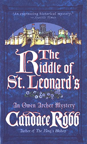 9780312966515: The Riddle of St. Leonard's (Owen Archer Mysteries)