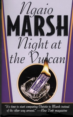 9780312966683: Night at the Vulcan (Dead Letter Mystery)