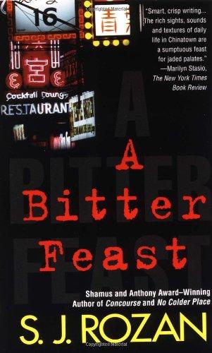 9780312970116: A Bitter Feast (Bill Smith/Lydia Chin Novels)