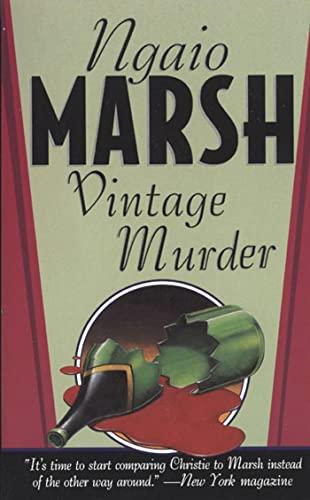 9780312971793: Vintage Murder (Roderick Alleyn Mysteries)