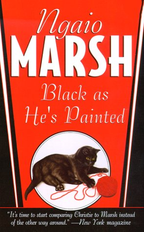 9780312972790: Black As He's Painted (St. Martin's Minotaur Mysteries)