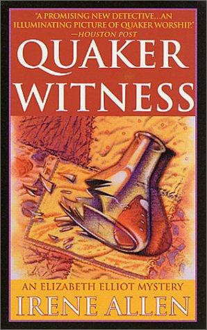 9780312972851: Quaker Witness (St. Martin's Minotaur mystery)