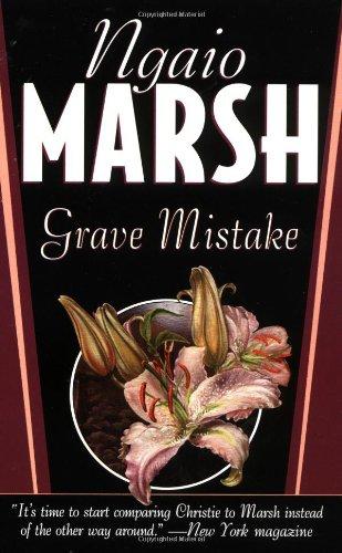 9780312972974: Grave Mistake (St. Martin's Minotaur Mysteries)