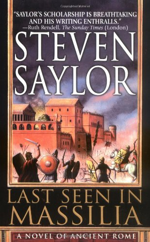 9780312977870: Last Seen in Massilia: A Novel of Ancient Rome (Novels of Ancient Rome)