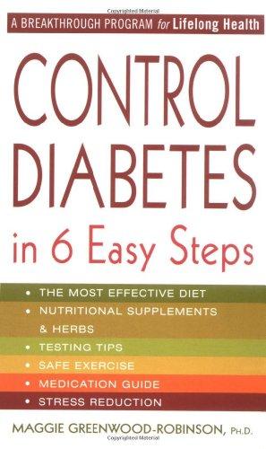 9780312981464: Control Diabetes in Six Easy Steps
