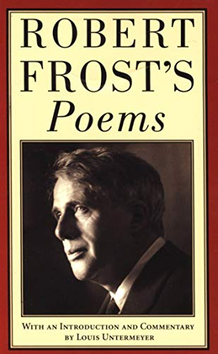 Robert Frost's Poems Format: Paperback: Robert Frost; With