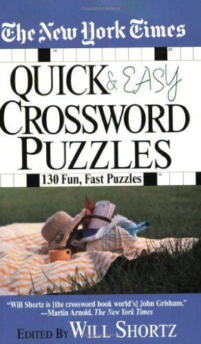 9780312998219: The New York Times Quick and Easy Crossword Puzzles