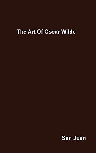 9780313202117: The Art Of Oscar Wilde