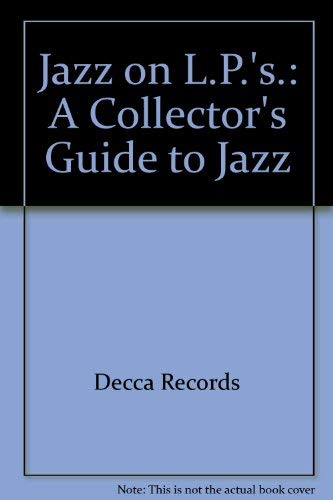 9780313203695: Jazz on L.P.'s.: A Collector's Guide to Jazz
