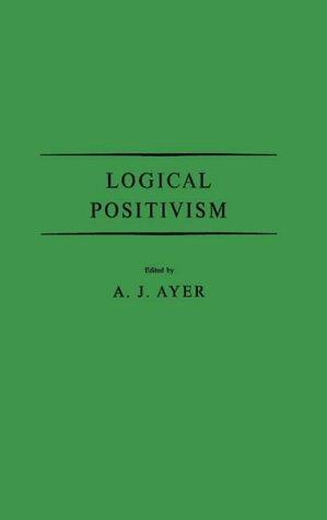 9780313204623: Logical Positivism