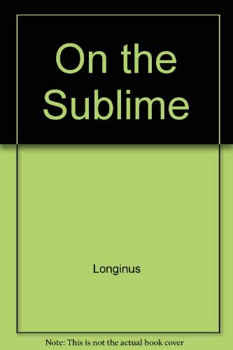 9780313204791: On the Sublime