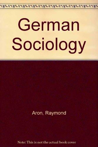 9780313210273: German Sociology