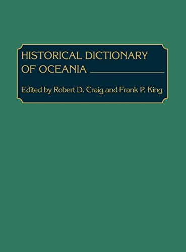 9780313210600: Historical Dictionary of Oceania