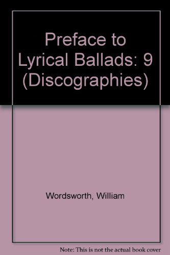 Wordsworth's Preface to Lyrical Ballads: Owen, W.J.B. (editor)