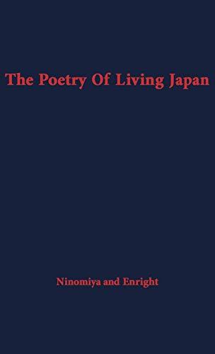 9780313212109: The Poetry of Living Japan. (Wisdom of the East)
