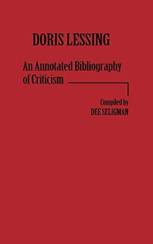 9780313212703: Doris Lessing: An Annotated Bibliography of Criticism