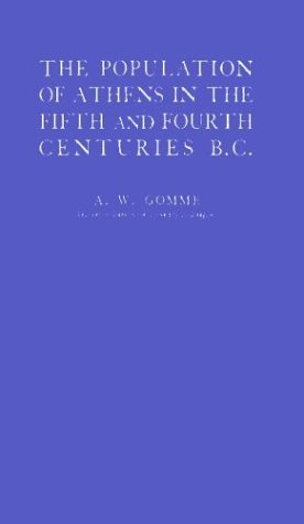 9780313220012: The Population of Athens in the Fifth and Fourth Centuries B.C