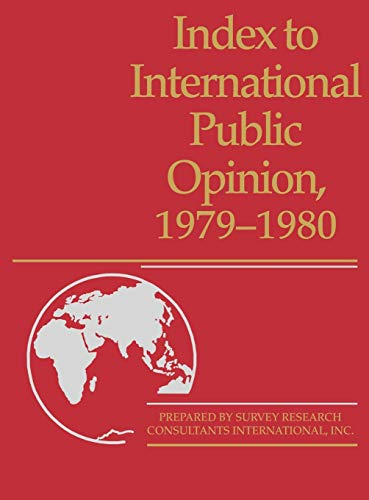 9780313225352: Index to International Public Opinion, 1979-1980