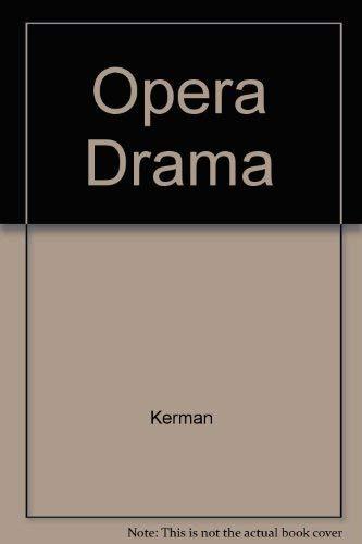 9780313227189: Opera As Drama