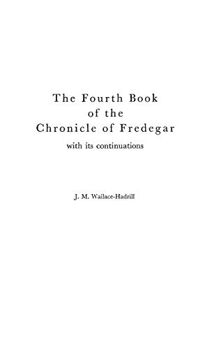 9780313227417: Fourth Book of the Chronicle of Fredegar With Its Continuations