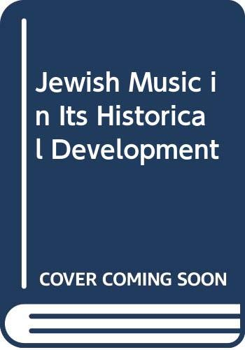 9780313227493: Jewish Music in Its Historical Development