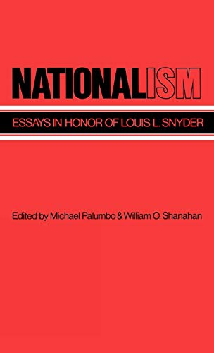 9780313231766: Nationalism: Essays in Honor of Louis L. Snyder