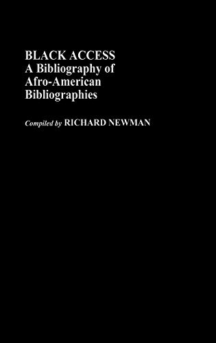 9780313232824: Black Access: A Bibliography of Afro-American Bibliographies