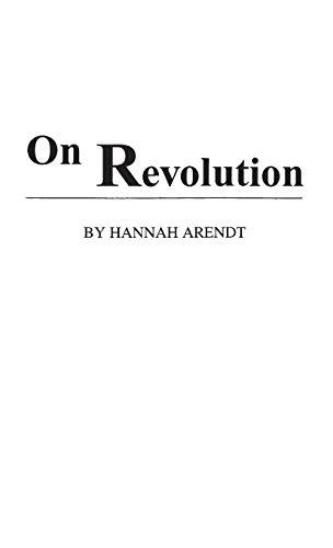 9780313234934: On Revolution