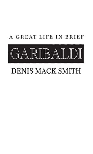 9780313236181: Garibaldi: A Great Life in Brief (Great Lives in Brief)